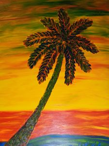 Color Palm Finger Painted MKART