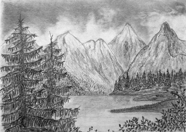 Lake scenery - Michael Mad