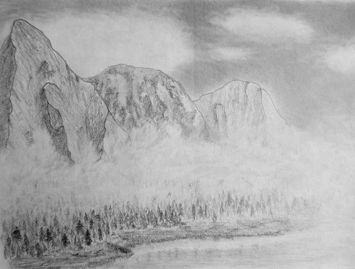Foggy rocks - Michael Mad