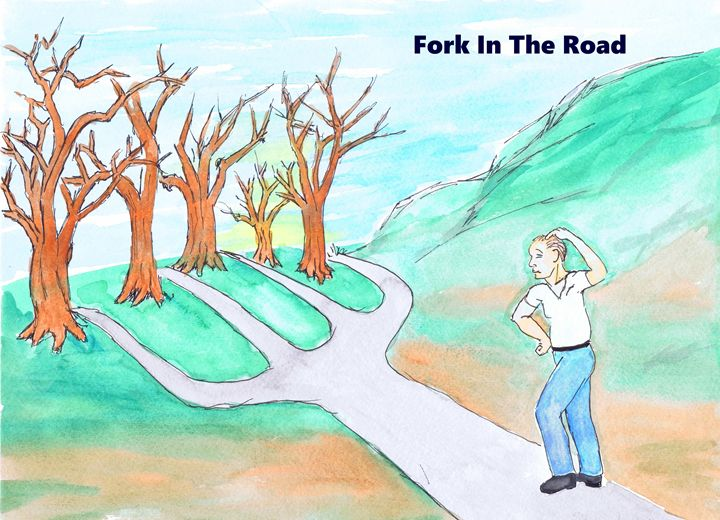 Fork In the Road - K.C.Higgins