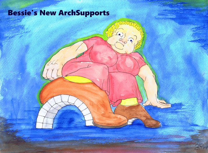 Bessies New Arch Supports - K.C.Higgins