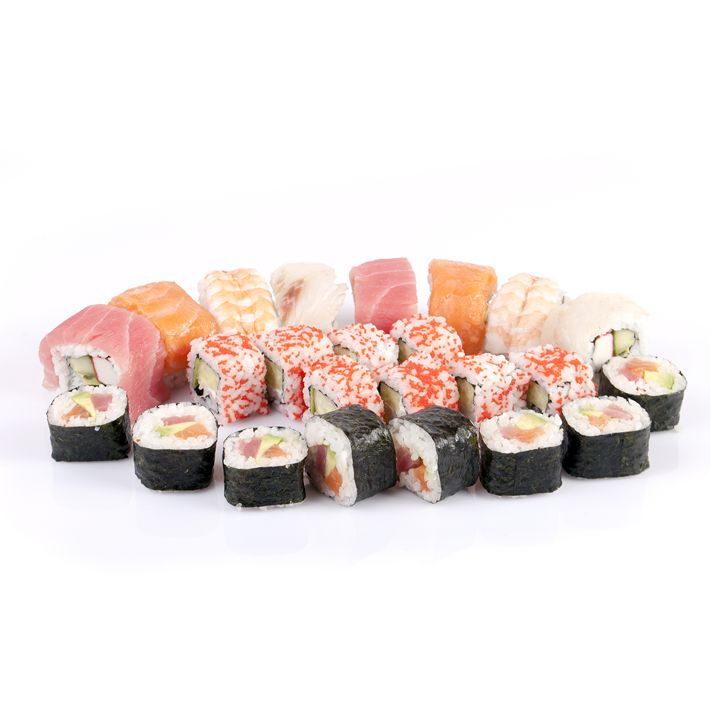 Sushi Plate. - photography