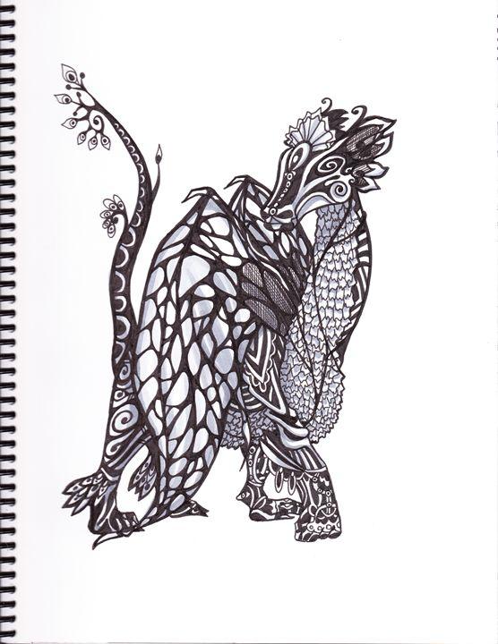 Beautiful Dragon Horse - Siofra