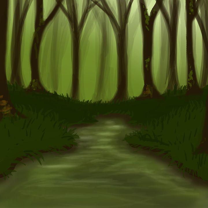 Forest pond - Siofra