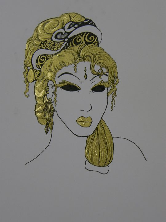 The golden lady - Siofra
