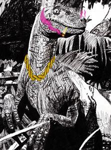 Smokin Sumthin' in the Jurassic - The Studio