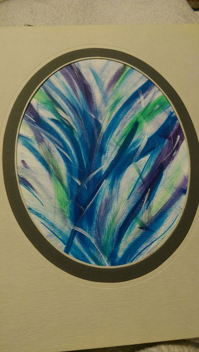 Item 11: Even Plants get the Blues - Power Paintings