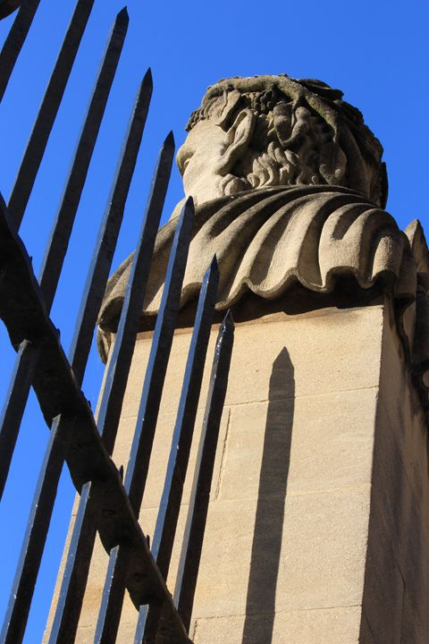Railings and Statue - Charlotte