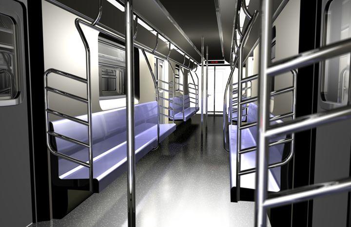 Subway Interior - Abby Digital Renders