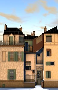 French House - Abby Digital Renders