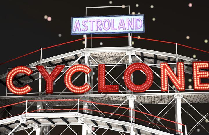 Astroland Cyclone - Abby Digital Renders
