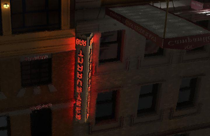 Neon Puddle 1 - Abby Digital Renders