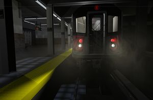 6 Train at 28th Street Station - Abby Digital Renders