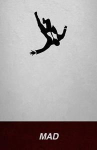 Mad Men Don Draper Falling Man Print