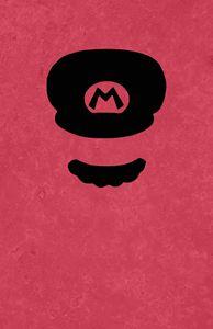 Mario Luigi Super Nintendo Mustache