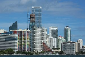Miami from Key Biscayne - Take Two