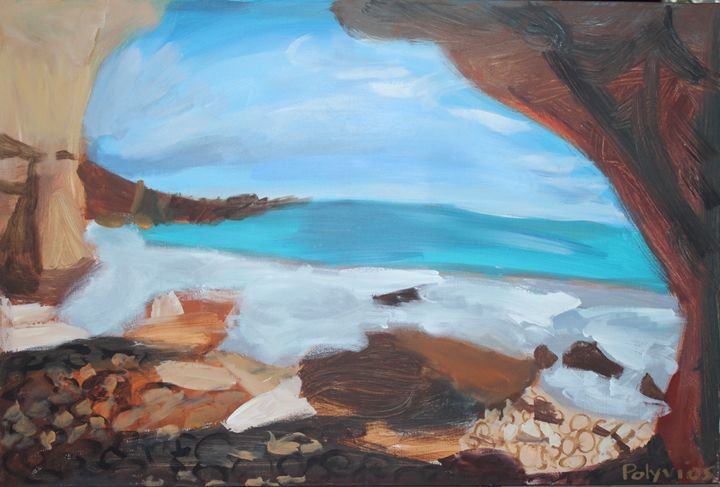 Rock View - Polyvios' Paintings Etc.