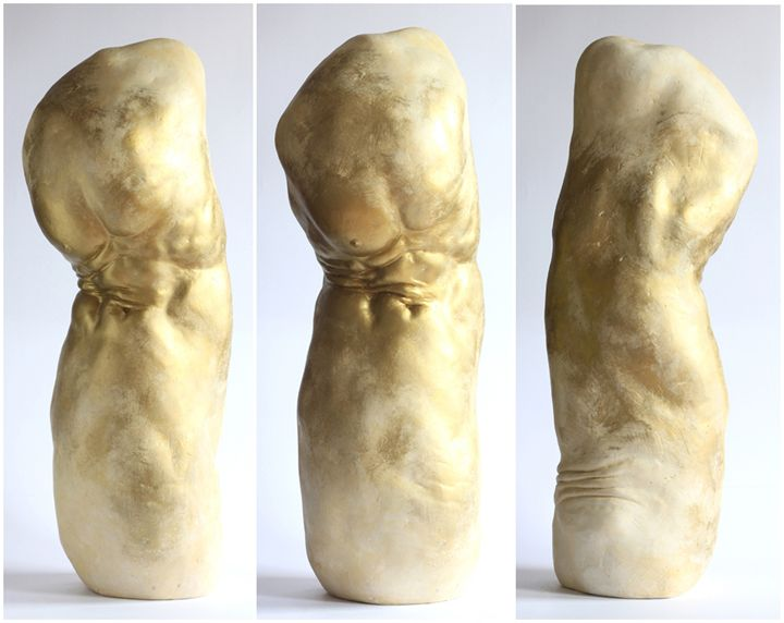 Pain (triple view). - Dominik Wdowski