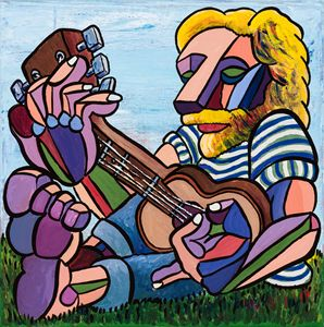 Lion Man Music - Mark Daniel Art