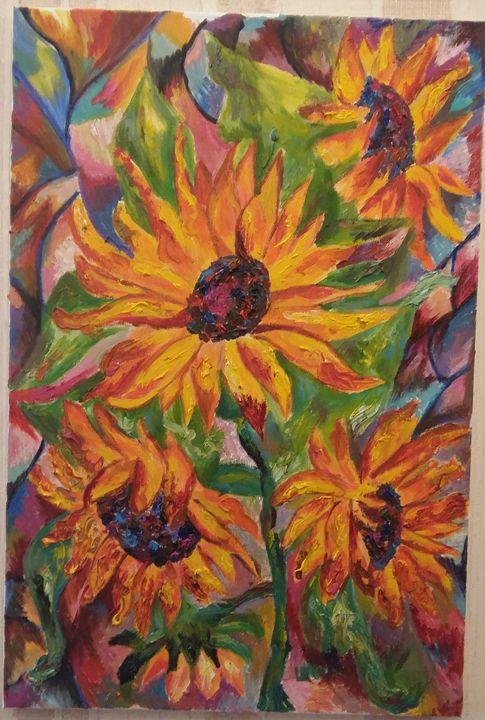 Sunflowers - Tamara Black