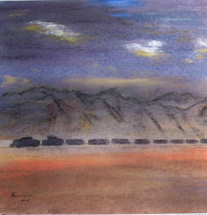 Hobo's Ride - Farrugia Art