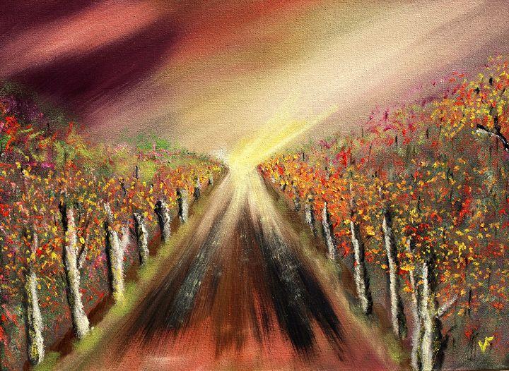 Autmn Trail - Farrugia Art