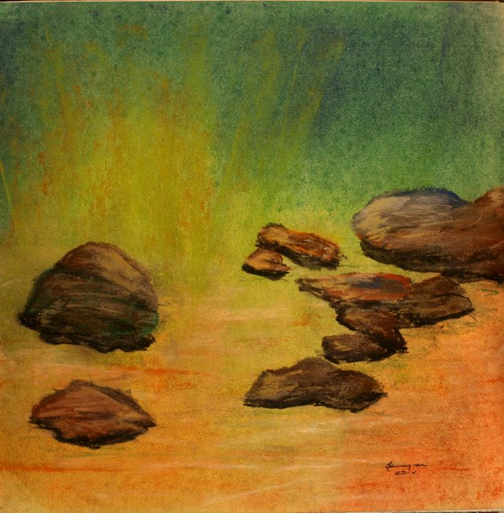 Stepping Stones - Farrugia Art
