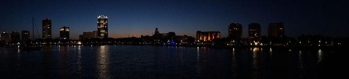 Panorama St Petersburg Florida - David J Riffey