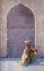 Madona of India (Saling water) - Alex Hook Krioutchkov