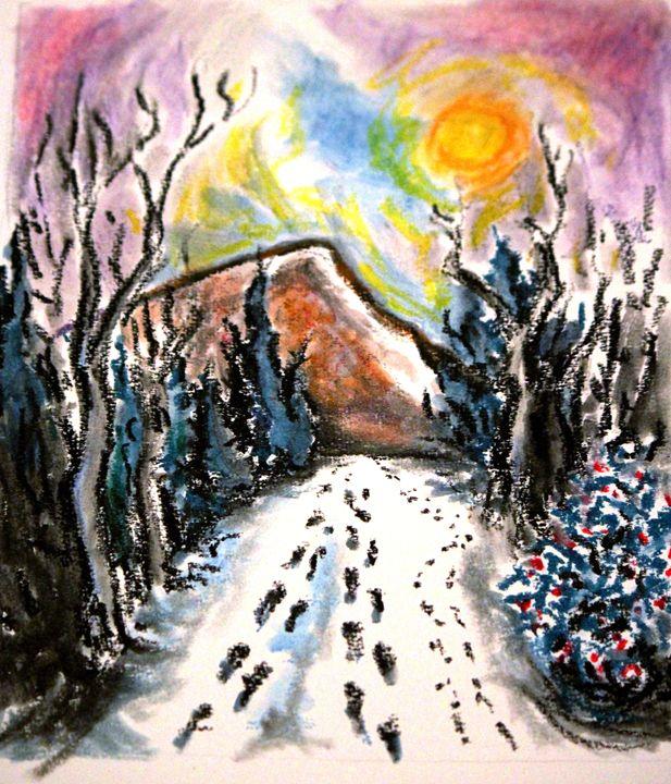 Footsteps in the Snow - Greg Thweatt