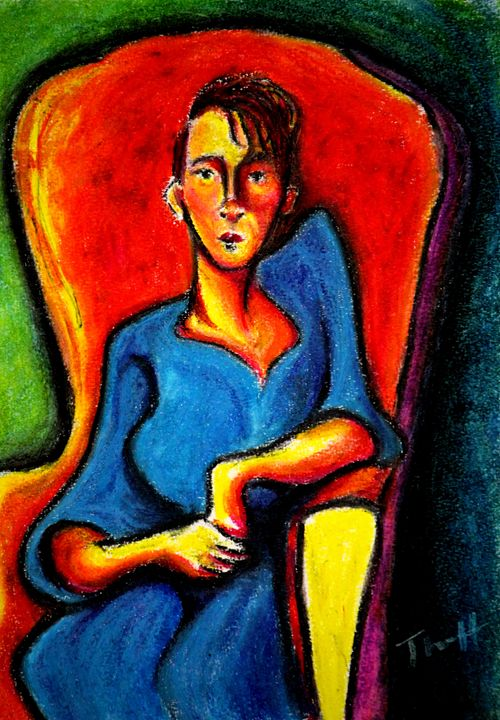 Seated Figure - Greg Thweatt