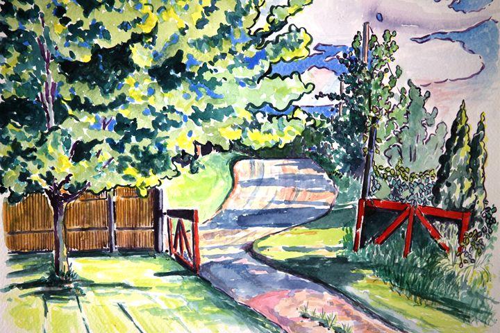 Gate and Maple - Greg Thweatt