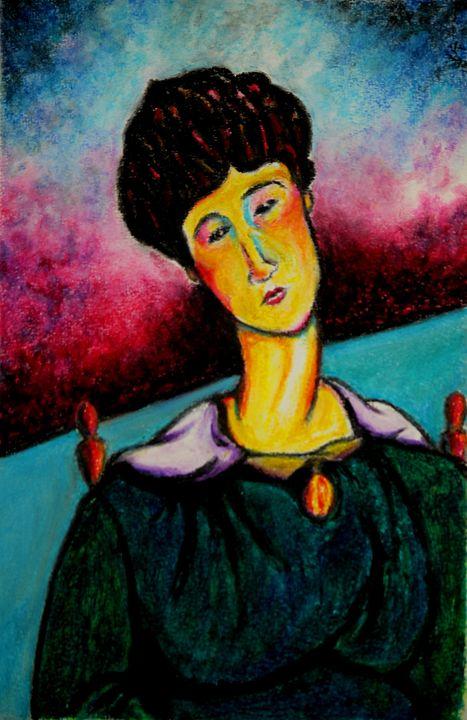 Woman Sitting - Greg Thweatt