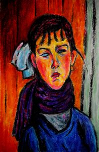 Marie after Modigliani