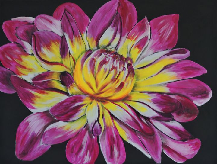 Bursting Bloom - Nicole Burnett