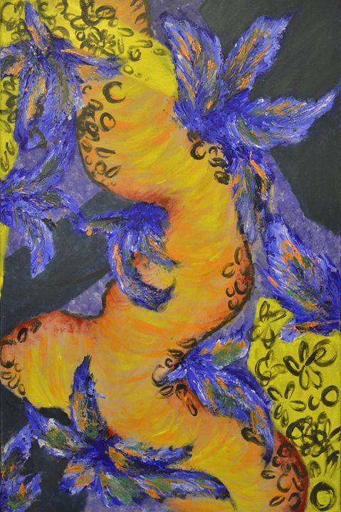 Under the Yellow Umbrella - Heikkinen Art