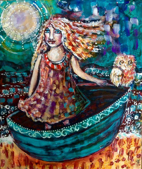 Beyond the shore - Cheryle Bannon