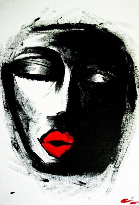 FACE - Cassandra McClure's Art