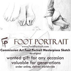 FOOT PORTRAIT com