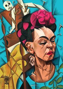 Frida Meets Cubes