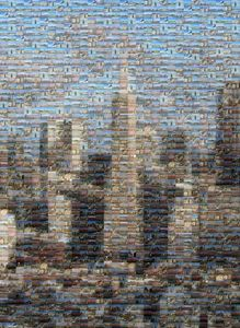 San Fran Financial District Mosaic