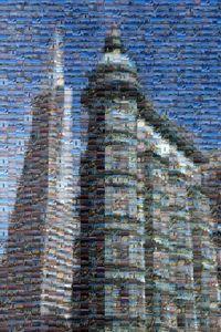 Transamerica Pyramid Mosaic