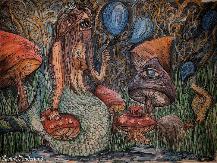 Birthday - Livi in Wonderland Art