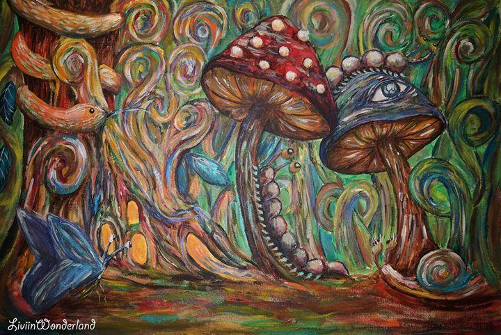 Bugs - Livi in Wonderland Art