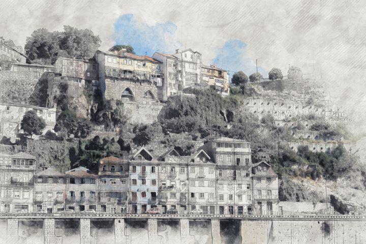 View of Porto - Les carnets de l'architecte