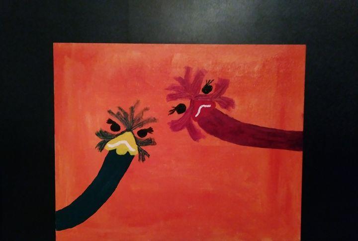 A little curious - Spoonie Lenné Artworks