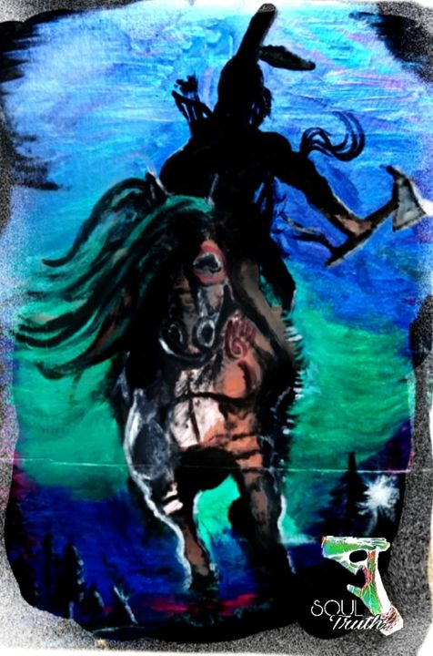 Horse Nation Warrior - Justo SoulTruth
