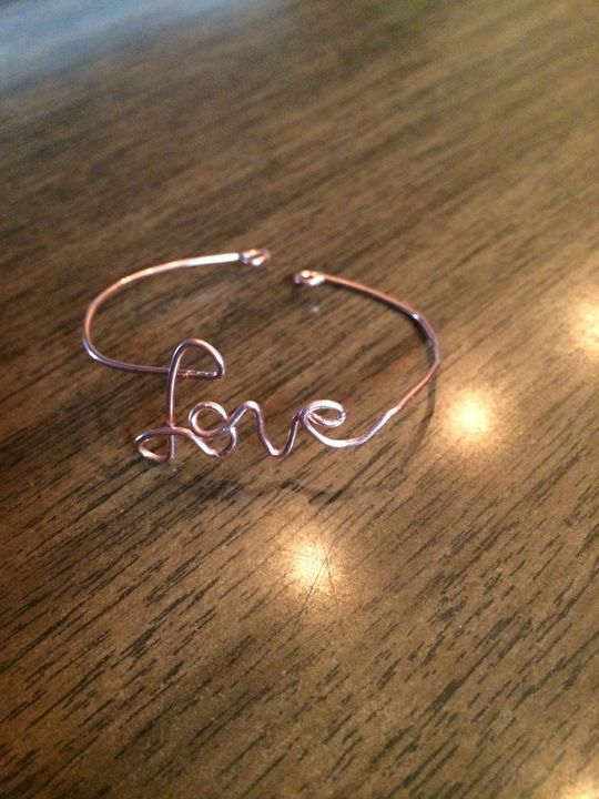 Copper Love Bracelet - Bella's Pictures and Baubles - Photo into Art