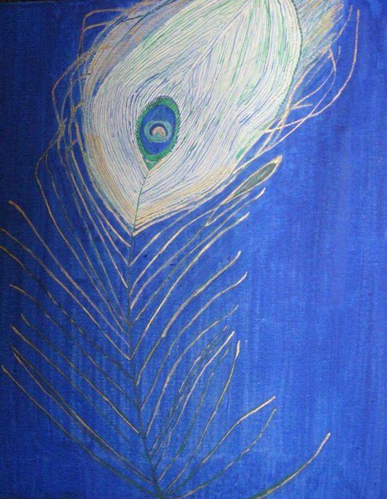 Peacock - Wateryblue