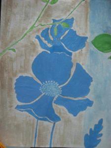Blue Floral II